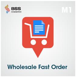 Fast order magento plugin
