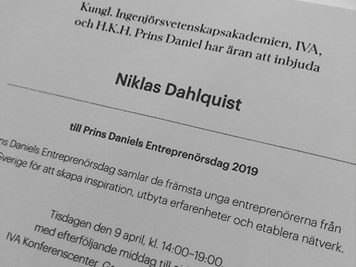 prins daniels entreprenörsdag